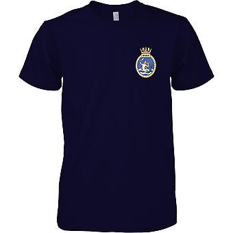 HMS Mermaid - ausgemusterte Schiff der königlichen Marine T-Shirt Farbe