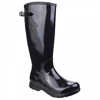 Muck Boots Ladies Bergen Black Tall Lightweight Rain Boots