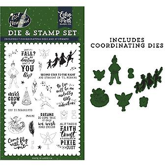 Echo Park Die & Stamp Combo Set-Never Grow Up