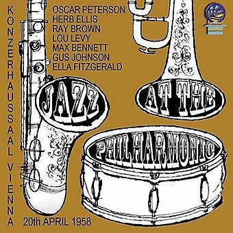 Jazz At The Philharmonic In Vienna 1958 [CD] USA import