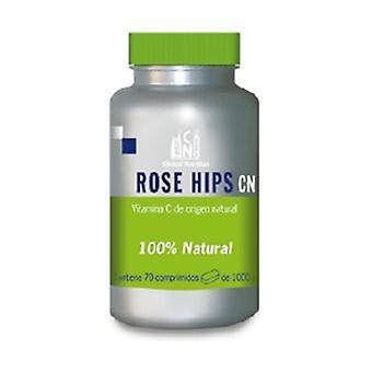 Rose Hips Vitamin C 70 tablets