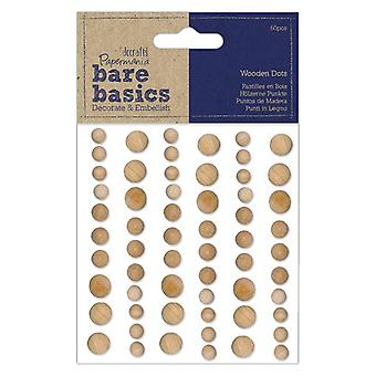 Papermania Wooden Dots Light