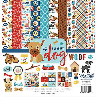 """Echo Park Collection Kit 12""""X12"""" - Ich liebe meinen Hund"""