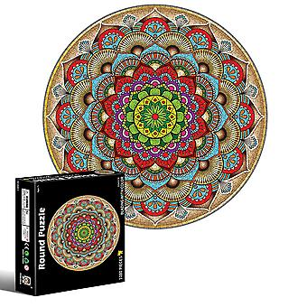 Homemiyn 1000 Pieces Adults Round Jigsaw Puzzle