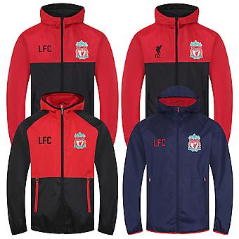 Liverpool FC officiella Fotboll Gift Boys DuschJack Windbreaker