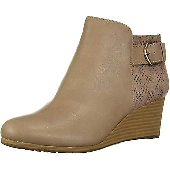 Dr. Scholl's Women's Bootie Ankle Boot, Taupe Grey, 8.5