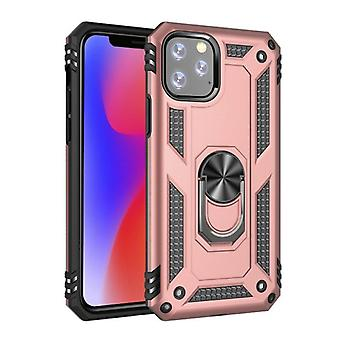 R-JUST iPhone 11 Pro Case - Shockproof Case Cover Cas TPU Pink + Kickstand