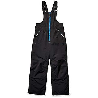 Essentials Boys' Bib da neve resistente all'acqua per bambini, nero, 4T