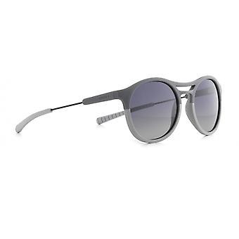 Sunglasses Unisex Spool panto matt grey/smoke