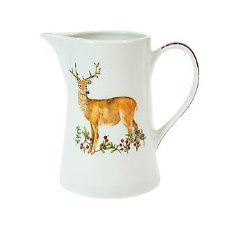 Foxwood Home Winter Lodge 1 Pint Jug