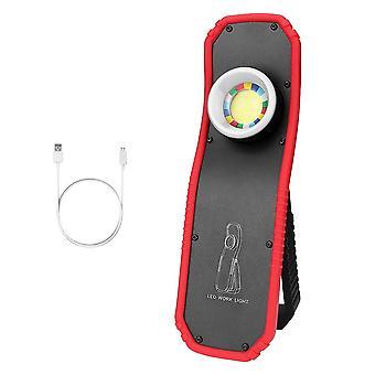 Uusi kannettava taskulamppupoltin Usb Ladattava (-led Työvalo Magneettinen tähtäys