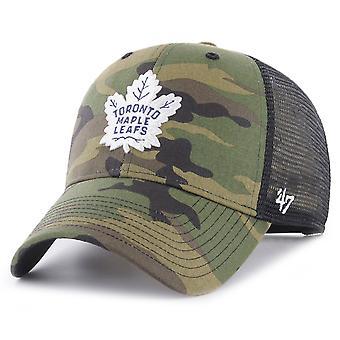 47 Brand Trucker Cap - BRANSON Toronto Maple Leafs wood camo