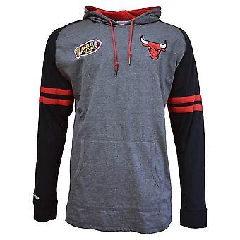 Mitchell & Ness Nba Lightweight Hoody 20 Chicago Bulls HDLSAJ19002CBUBLCK basketball all year men sweatshirts