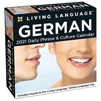 Living Language German 2021 DaytoDay Calendar by Random House Direct