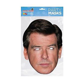 Masque-arade Pierce Brosnan Célébrités Party Face Mask
