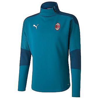 2020-2021 AC Milan Koulutus fleece (Syvä laguuni)