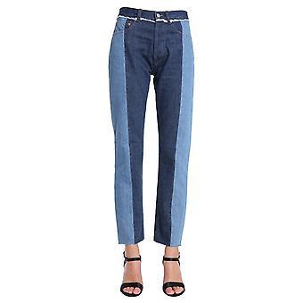 Forte Couture Fcfw1859 Women's Blue Cotton Jeans