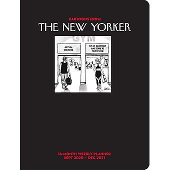 Cartoons from The New Yorker 16Month 20202021 Weekly Planner Calendar by Conde Nast