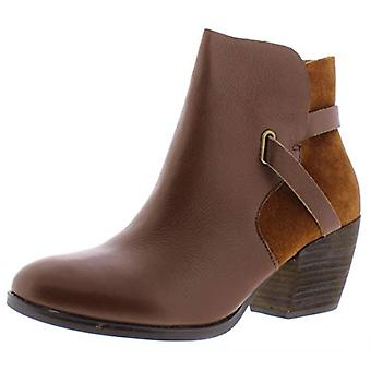 American Rag Womens Ashlyn Leather Almond Toe Booties