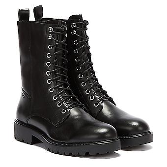 Vagabond Kenova Lace Up High Womens Botas Pretas