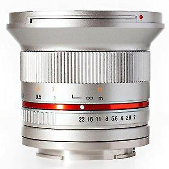 Rokinon rk12m-fx-sil 12mm f2.0 ultra vidvinkel linse for fujifilm x-mount kameraer