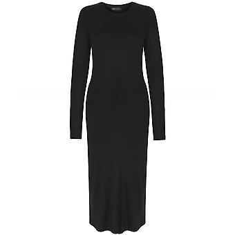 NU Long Sleeve Midi Dress