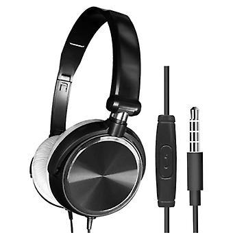 HEONYIRRY HiFi Gaming Headphones for PC / Xbox / PS4 / PS5 - Wired Headset Headphones Black