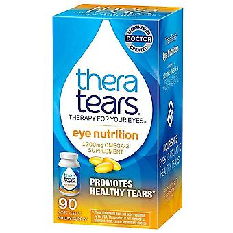 Theratears nutrition omega-3 supplement with vitamin e, capsules, 90 ea