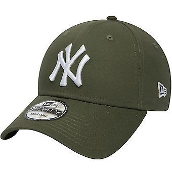 Нью-Эра Менс Нью-йорк NY Янкиз 9FORTY MLB Регулируемый Бейсбол Cap Hat - Зеленый
