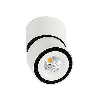Moderne technische LED-oppervlak gemonteerd wit, zwart, koel wit 4000K 2350lm