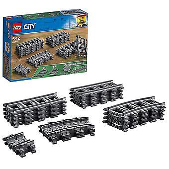 Lego 60205 stad tracks 20 stuks extentie accessoire set