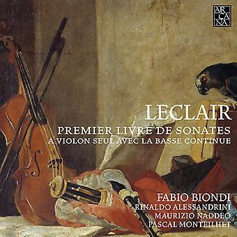 J. Leclair - Leclair: Premier Livre De Sonates [CD] USA tuonti
