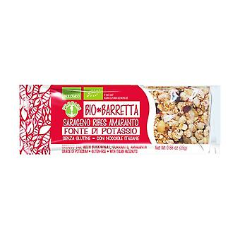 Organic buckwheat bar with amaranth currant 25 g
