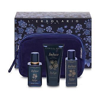 Indigo Beauty Clutch Bag 3 units