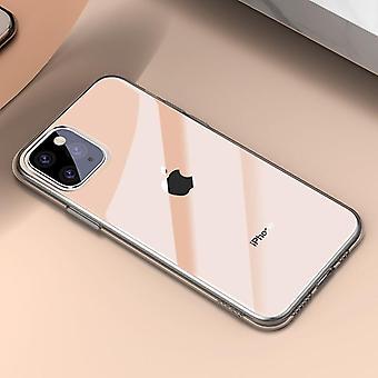 Case Coque Ultra Thin Soft Tpu Silikon baksida lock för Iphone