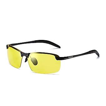 Polarized Driving Chameleon Glasses Change Color Sun Glasses Day Night Vision