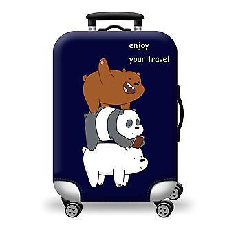 Souci coloré de couverture de valise à égaré