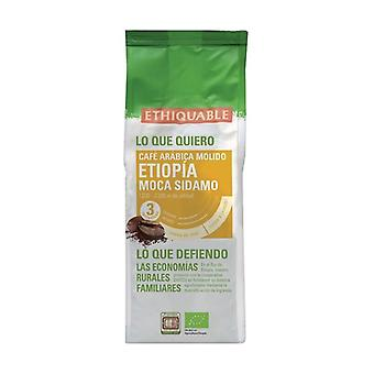 Ethiopia premium organic ground mocha coffee 250 g