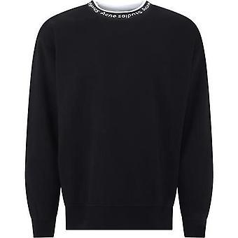 Acne Studios Bi0078black Men's Black Viscose Sweatshirt