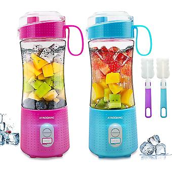 Portable Blender, Personal Juicer for Shakes and Smoothies Baby Food Processor