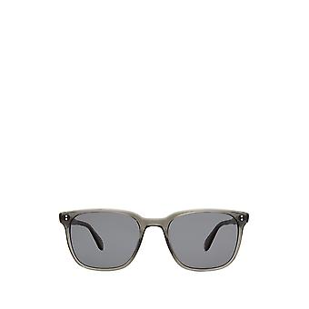 Garrett Leight EMPEROR SUN grey crystal unisex sunglasses