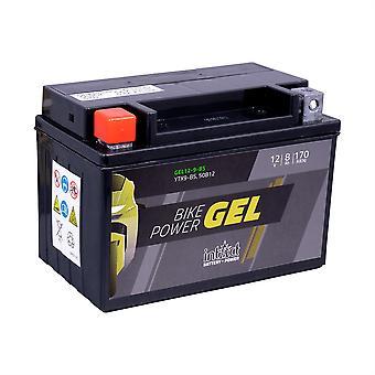 intAct YTX9-BS / 50812 Gel Bike-Power Battery