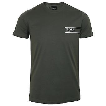Hugo boss men's dark green rn 24 t-shirt