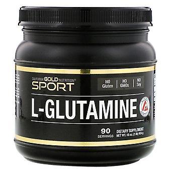California Gold Nutrition, L-Glutamine Powder, AjiPure, Gluten Free, 16 oz (454 g)