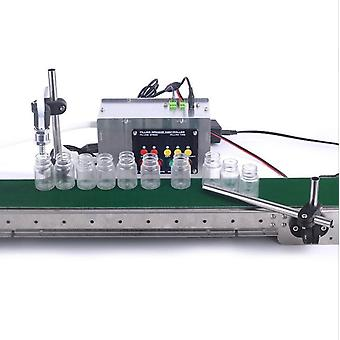 Automatic Conveyor Belt, Single Head Liquid Filling Can, Sense High Precision,