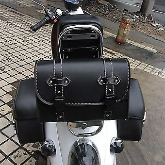 Side Pu Leather Luggage Saddle Bag Storage Tool Pouch, For Harley Sportster