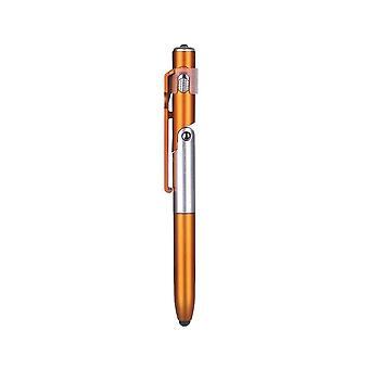 4-in-1 taittuva kuulakärkikynä, näytön kynän kosketuskynä ledillä tablet-matkapuhelimeen