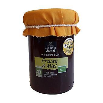 Organic strawberry and honey jam 250 g