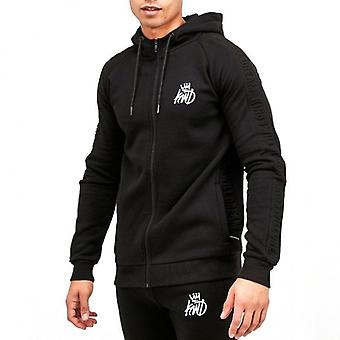 Kings Will Dream Kishane Black Zip Up Hoody Sweatshirt