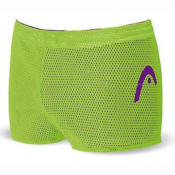 Cabeza cortos de arrastre Reversible Unisex doble potencia - violeta/verde